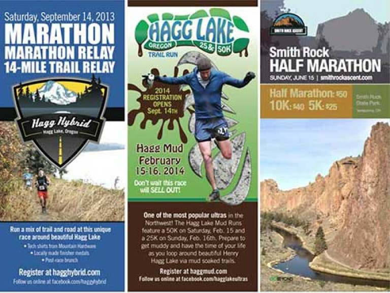 Racing Rack Cards - Oregon Running Clubs